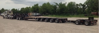 70 Ton Multi Configuration Trailer