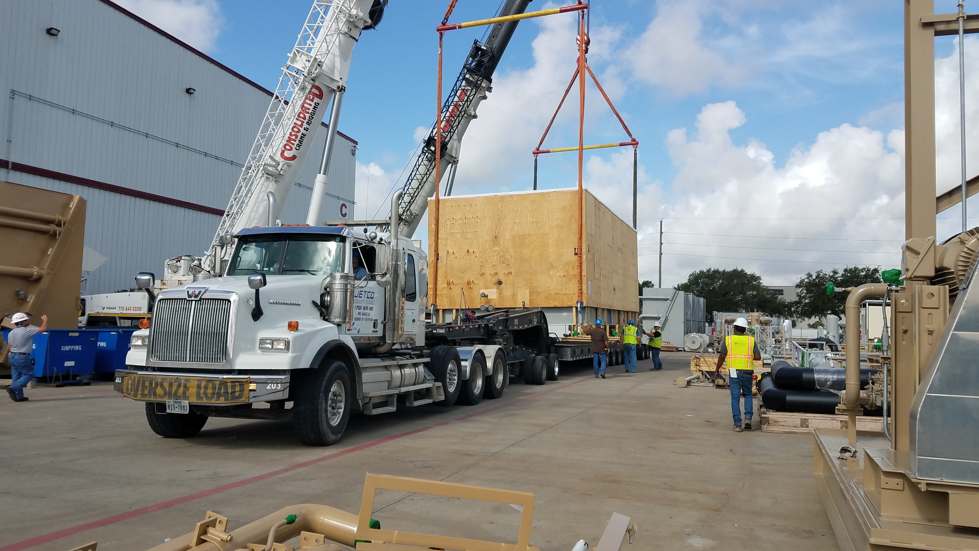 Jetco and Precision Specialized Join Forces to Provide Heavy Haul Brokerage Services