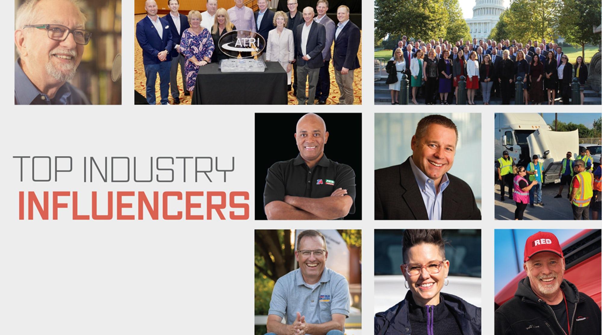 FleetOwner's top trucking industry influencers