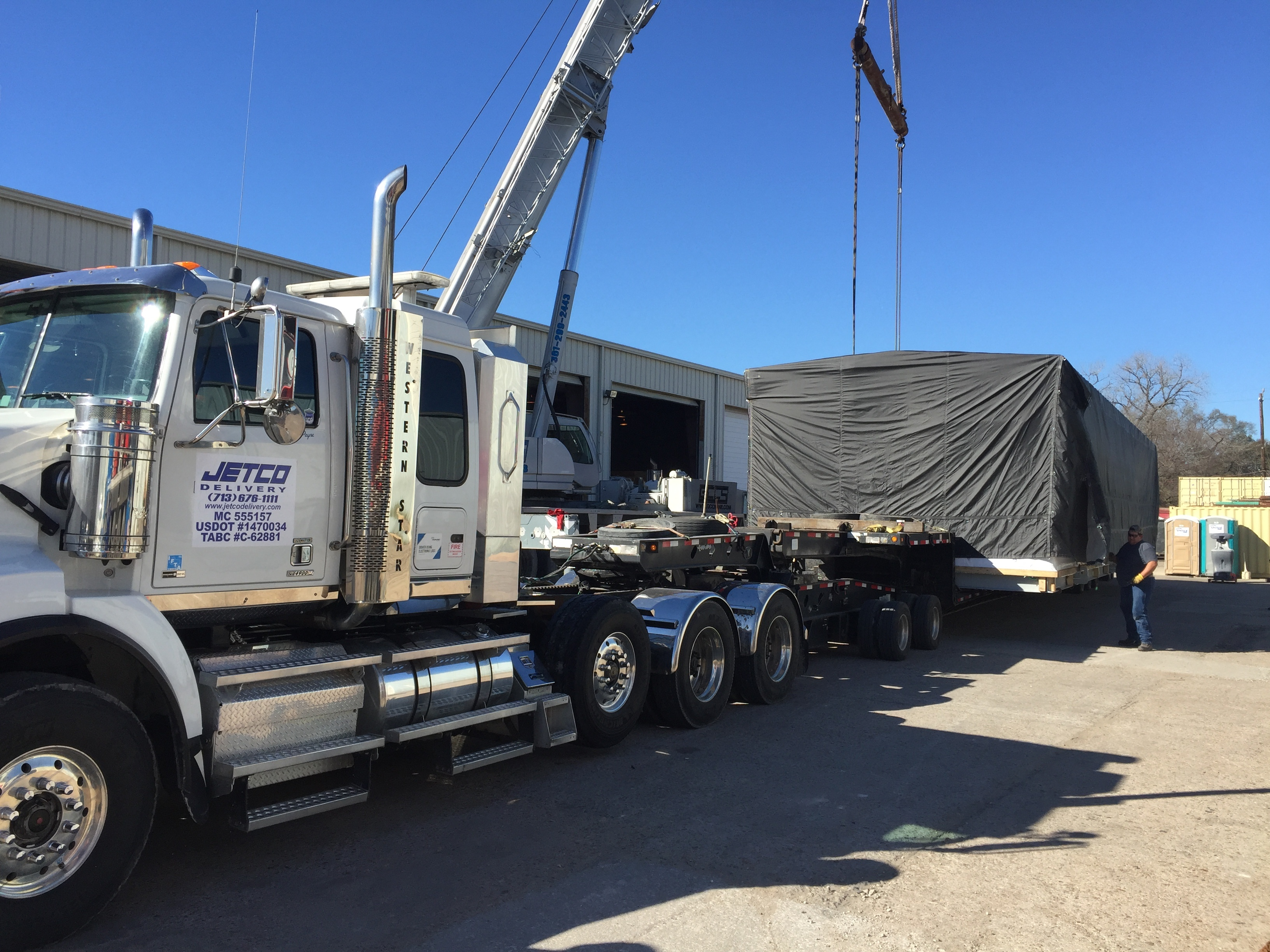 A Heavy Haul Move to Alaska
