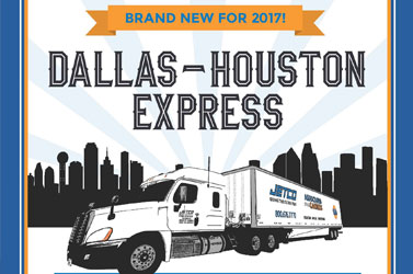 Introducing the Dallas-Houston Express!